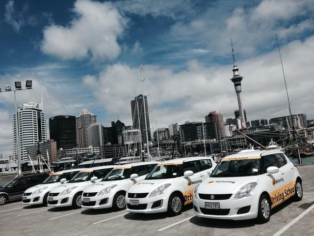 The new fleet of AA driving school cars