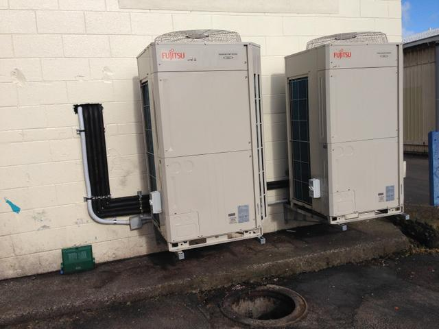 Outdoor units for Ducted Systems