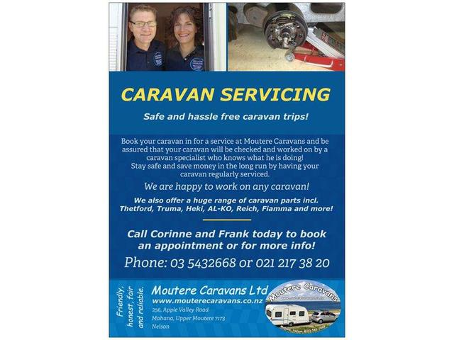 Caravan repairs and servicing in Nelson