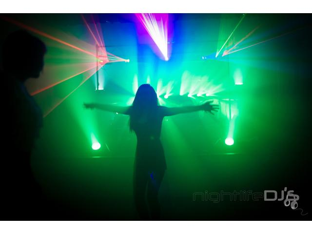 Nightlife DJ's - Birthday Party Set Up
