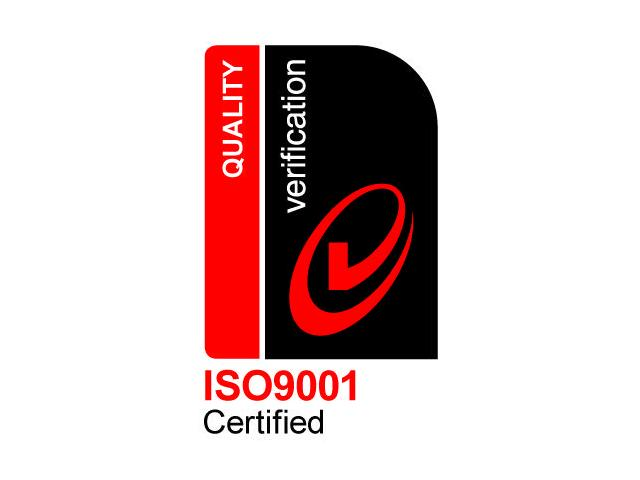 ISO9001 Certified for Quality