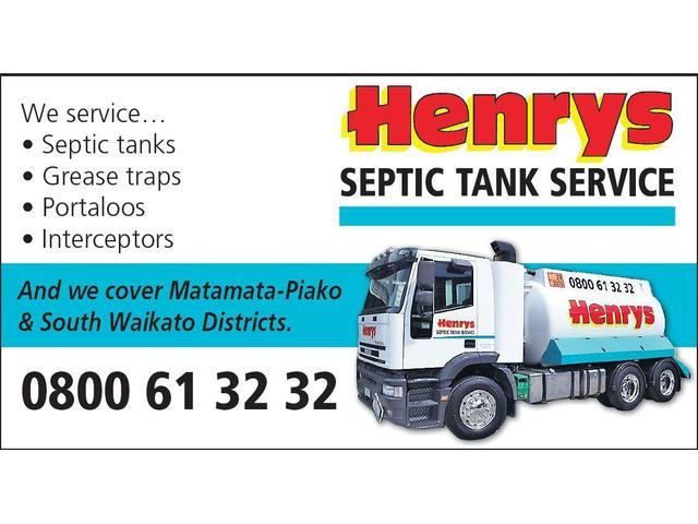 Henrys Septic tank Service