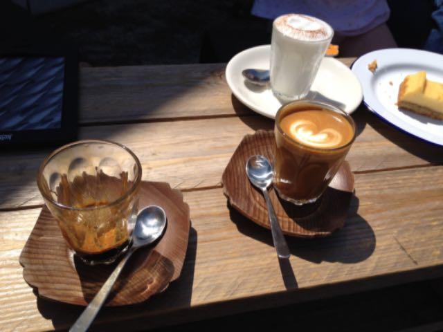 Enjoyed a wonderful espresso and piccolo