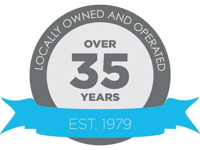 Locally owned and operated for over 35 years