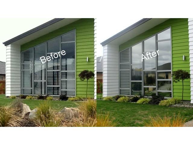 Privacy, fade protection, glare reduction all in one product!