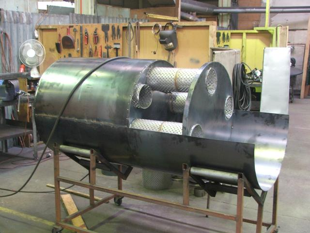 Industrial Marine Mufflers made at MLB NZ Ltd