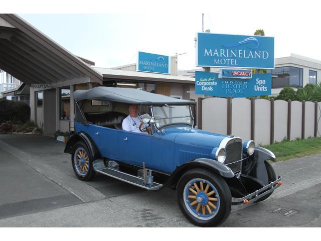 The Motel's 1927 Dodge Tourer