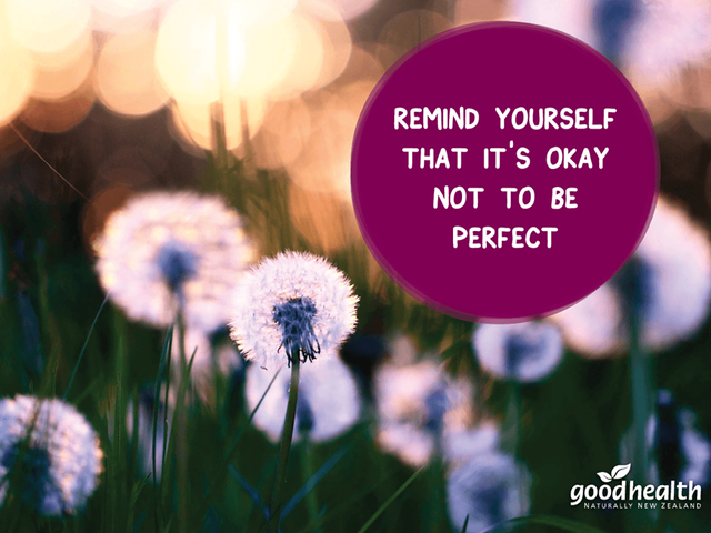 Good Health NZ, it's ok to not be perfect!