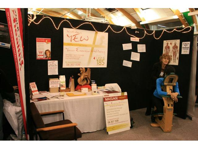 The YEW stand at Women's Lifestyle Expo 2014