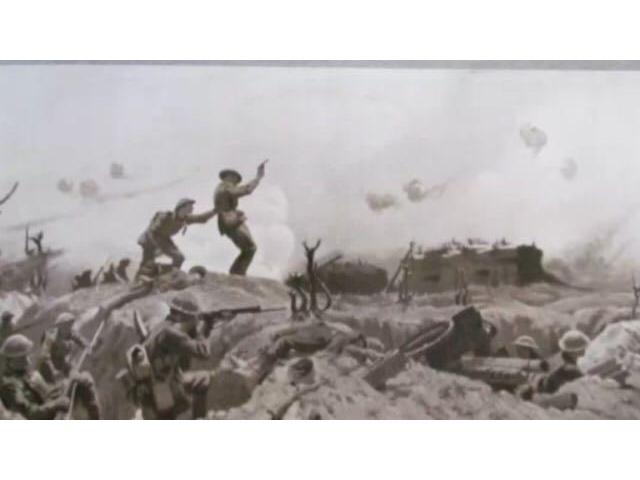 5th in Action in France 1917