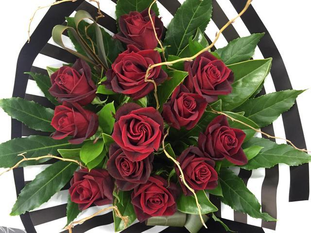 Passion (dozen roses $129 or $229  two dozens or $329 three dozens or 429 four dozens)