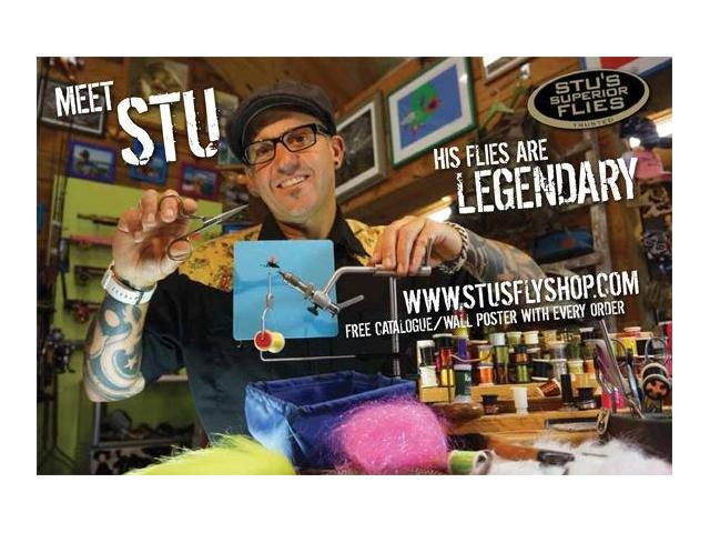 Stuart Tripney - Creator of Stu's Superior Flies and Stu's Fly Shop where New Zealand's best fly fishing is.