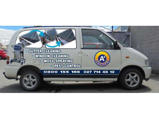 A+ Services, Window Cleaning, Pest Control, Gutter Cleaning, Moss Spray
