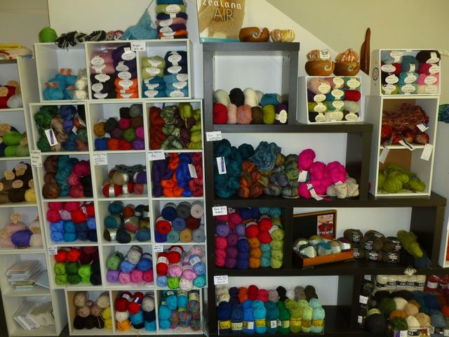 A wide range and variety of wool and knitting products