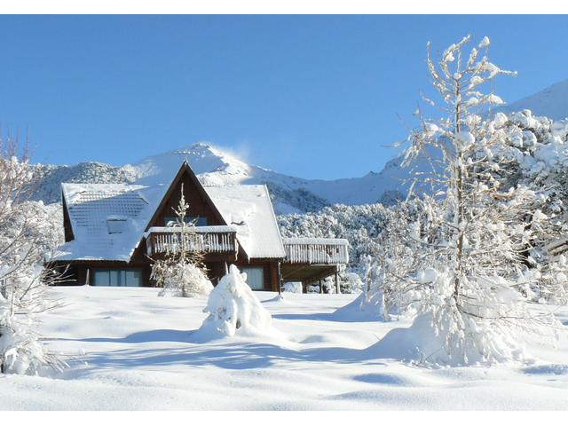 Clearview lodge in winter