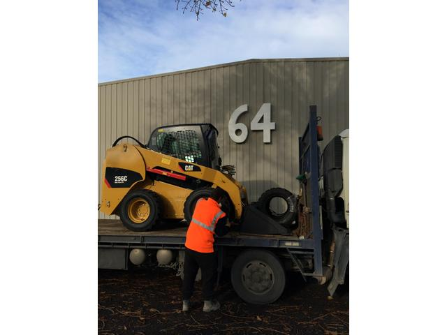 256C Loaded in Tauranga to be taken to North End Contractors