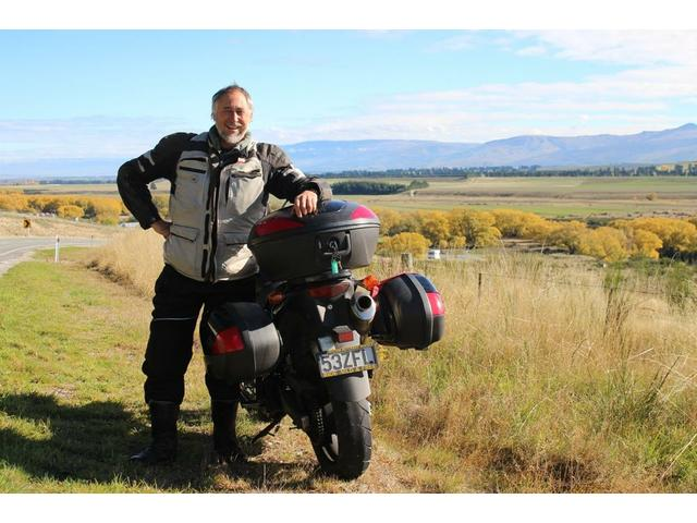 The Central Otago Plains are stunning in Autumn.