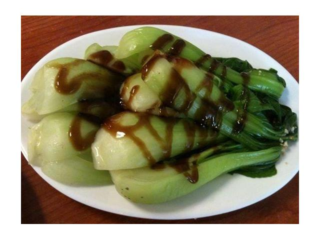 Bak Choy in Oyster Sauce