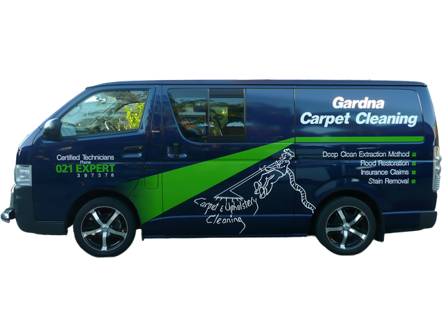 We have the lastest vans and equipment for a superior clean