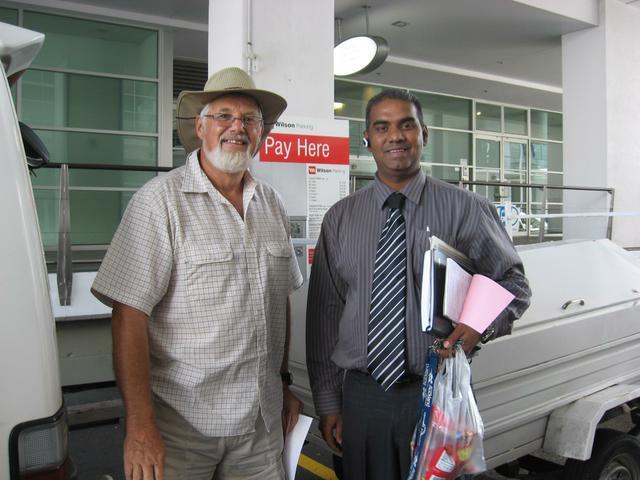 Ashwin with Happy Customer