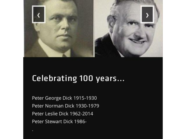 There has been four generations of Peter Dick Optometrists. Celebrate 100 years of eye care in Otago