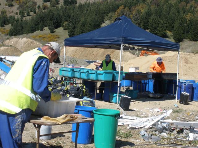 Waste analysis programme at Landfill
