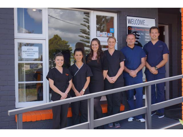 The friendly team at Birkenhead Dental
