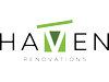 Haven Renovations Logo, Auckland's leading home renovation experts visit www.havenrenovations.co.nz