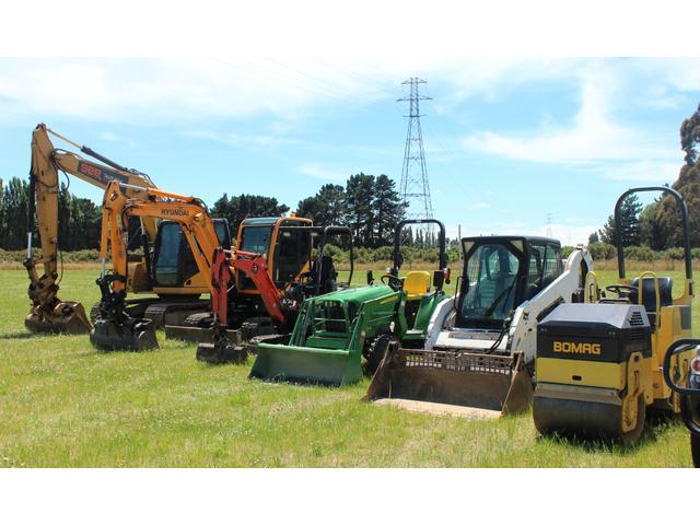 Excavators and equipment