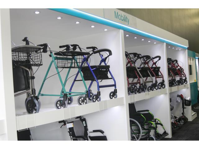 We have a wide range of walkers, wheelchairs and mobility equipment