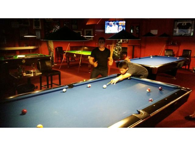 Pool comp work outing