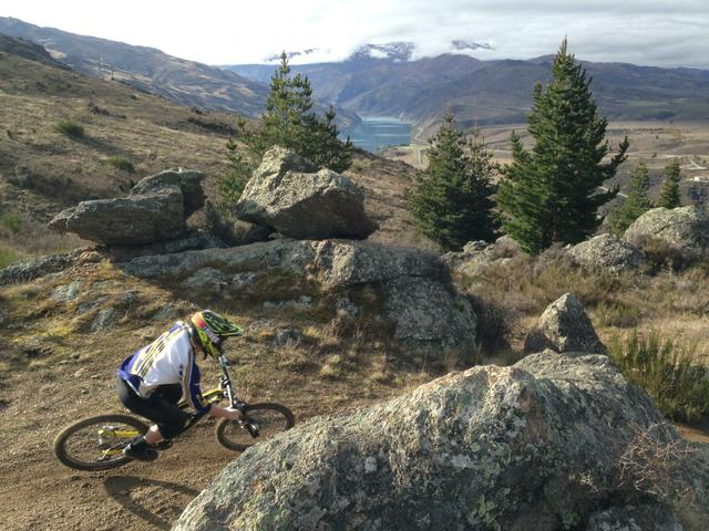 Gardens Physiotherapy at Clyde for downhill biking