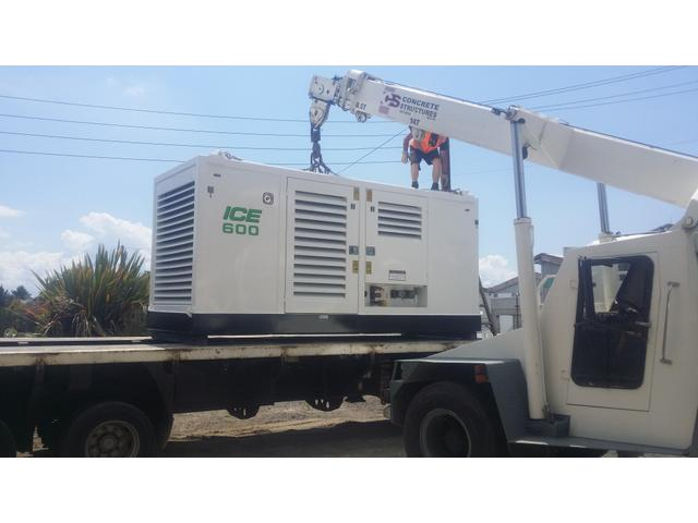 The 3rd generator done for concrete structures