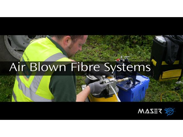 Air Blown Fibre Systems from Emtelle