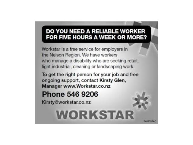 Free Job Search for people who manage a disability and C.V. Service