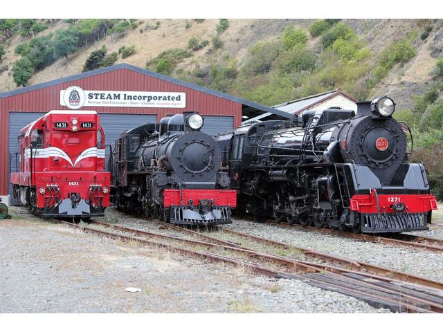 "Locomotives Da1431, Ab608 ""Passchendaele"" & Ja1271"