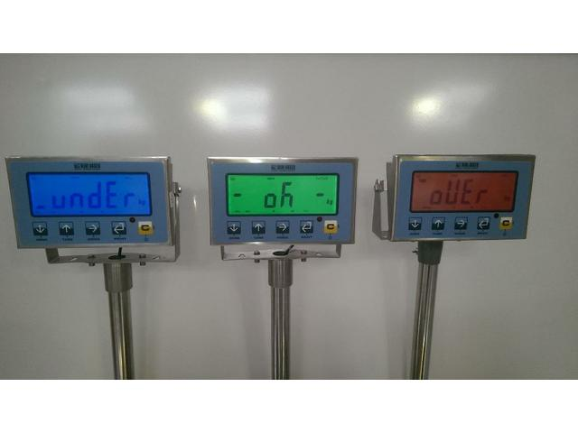 Coloured Screen Check weighers