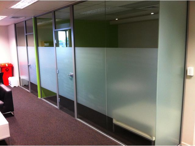 Office tinted glass
