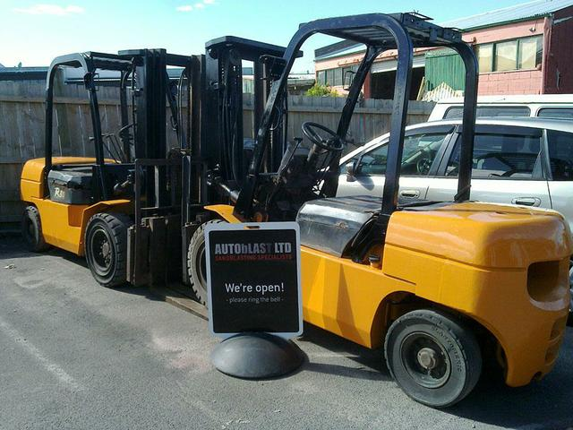 Forklift- Finished Product