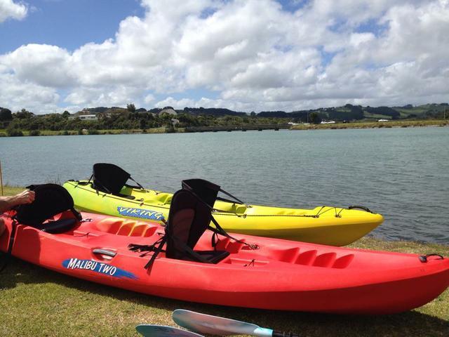 Raglan Double kayak