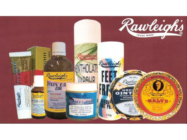 Order your Rawleigh's medications now.